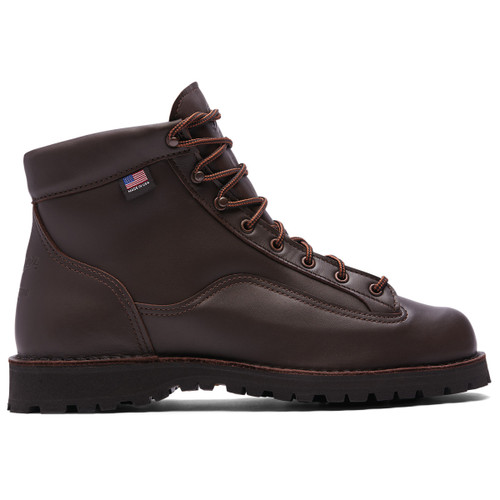 """Danner Explorer All Leather GTX 6"""" Brown Boot - Made in USA"""