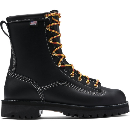 Danner Super Rain Forest Black Waterproof Composite Toe Boot - Made in USA