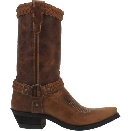 Laredo Women's Plait Braided Harness Boot