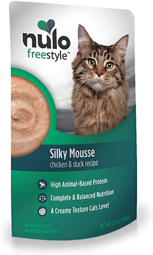 Nulo FreeStyle Grain Free Silky Mousse - Chicken and Duck 2.8oz