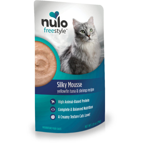 Nulo FreeStyle Grain Free Silky Mousse - Tuna and Shrimp 2.8oz