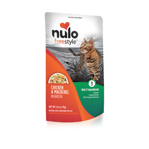 Nulo FreeStyle Grain Free Chicken and Mackerel in Broth 2.8oz