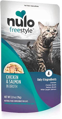 Nulo FreeStyle Grain Free Chicken and Salmon in Broth 2.8oz