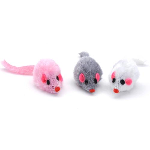 Turbo Furry Mice Cat Toy