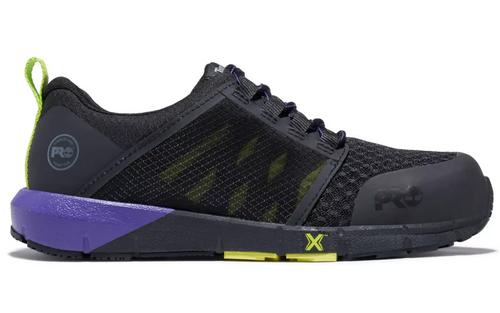 Timberland Pro Women's Radius Composite Safety Toe Work Shoes - Black/Purple