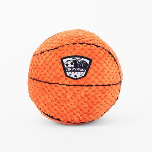 SportsBallz Basketball Dog Toy