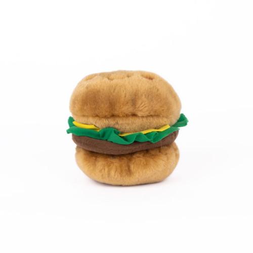 NomNomz Burger Dog Toy