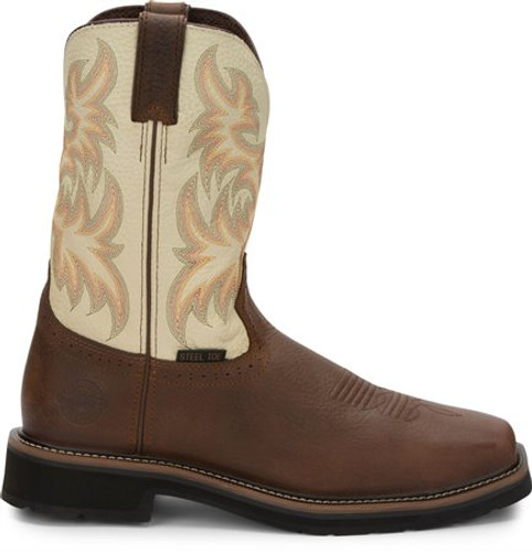 Justin Men's Driller Steel Toe Boots