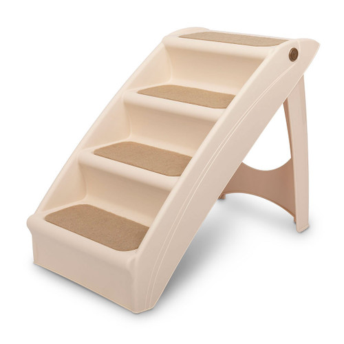 Solvit Cozyup  Four Step Folding Pet Stairs