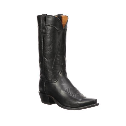 Bart - Lucchese Men's Black Western Boot