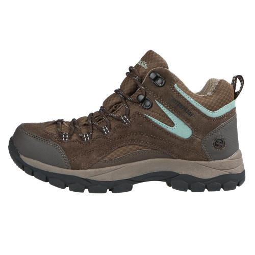 Northside Women's Pioneer Waterproof Hiking Boot - Dark Brown-Sage