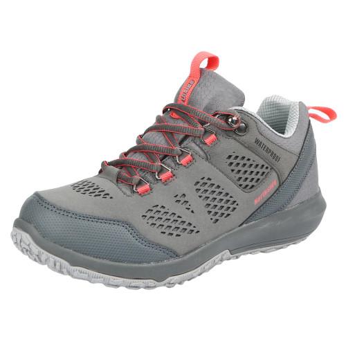 Northside Women's Benton Waterproof Hiking Shoe - Gray-Coral