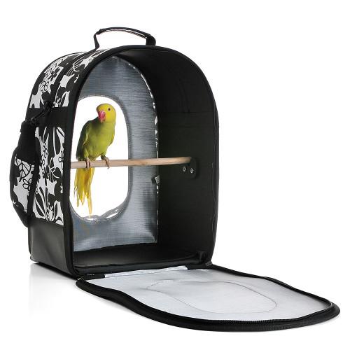 Happy Beaks Soft Sided Bird Travel Carrier