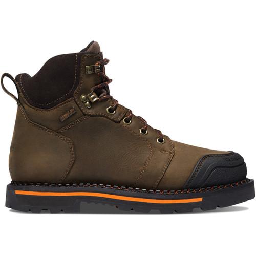 "Danner Men's Trakwelt 6"" Work Boot Waterproof Composite Safety Toe - Brown"