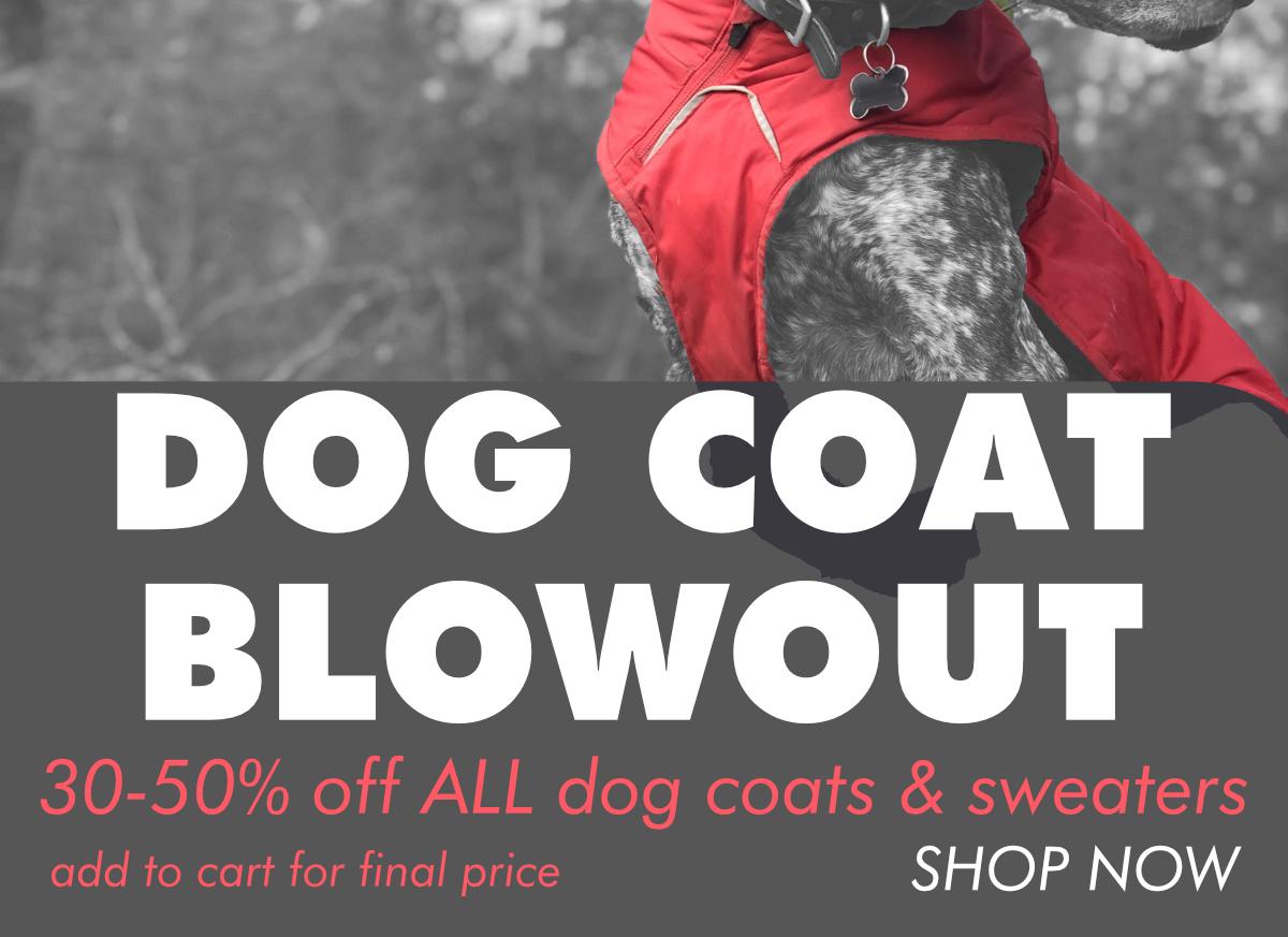 Shop dog coats