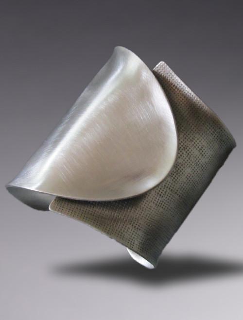 """""""Futura"""" Sterling Silver Cuff"""