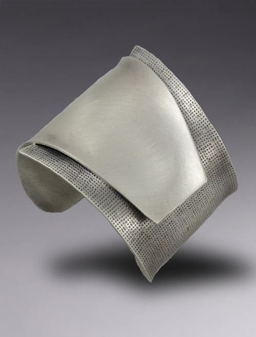 """Untitled"" Sterling Silver Cuff"