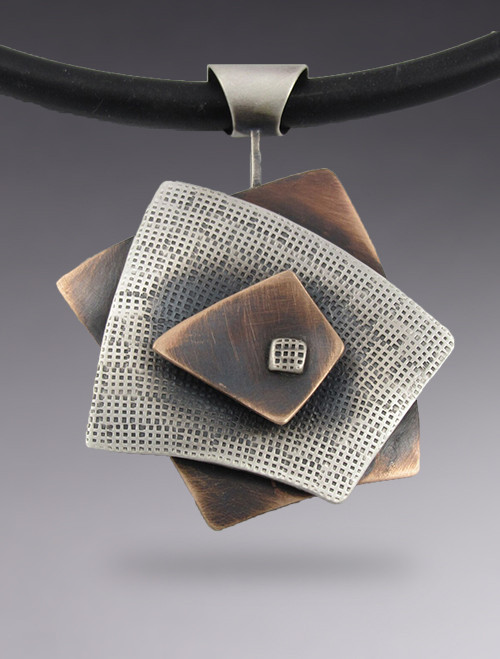 Squares 3 Layer Pendant