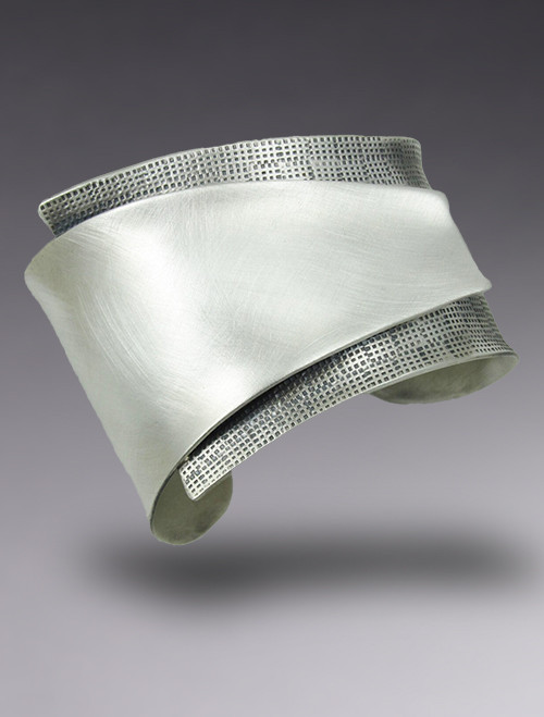 """Reduction"" Sterling Silver Cuff"