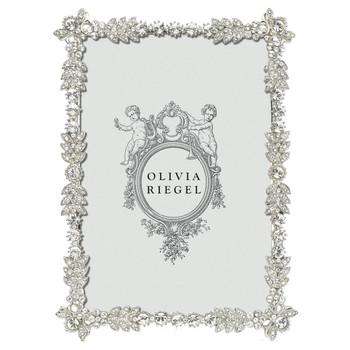 Olivia Riegel Duchess 4X6 Silver Frame