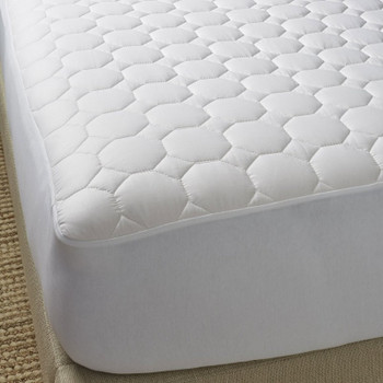 Scandia Home Pure Cotton Mattress Pad