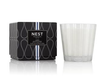 NEST Fragrances 3-Wick Candle - Linen