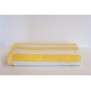 Espalma 700 Stripe Beach Towel - Yellow
