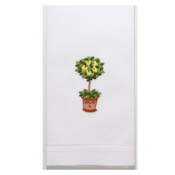 Henry Handwork-Lemon Tree Guest Towel