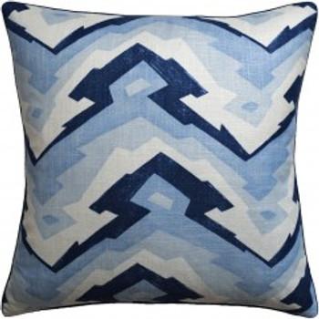 Ryan Studio Decorative Pillow Deco Mountain Blue