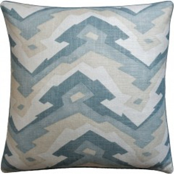 Ryan Studio Decorative Pillow Deco Mountain Aqua