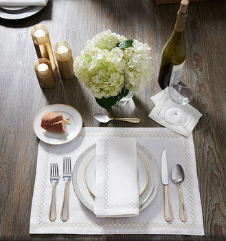 Sferra Perry Dinner Napkin - 20x20 (Set of 4)