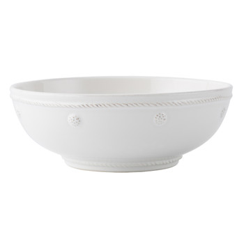 Juliska Berry & Thread Whitewash Coupe Pasta Bowl