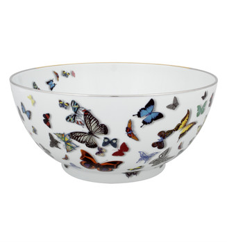 Christian La Croix Butterfly Parade Salad bowl 11""