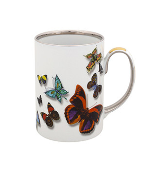 Christian La Croix Butterfly Parade Mug 13oz