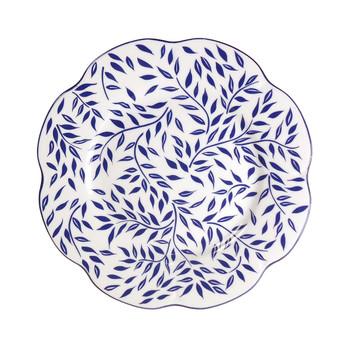 """Royal Limoges Olivier Blue Dinner Plate 10.75"""""""
