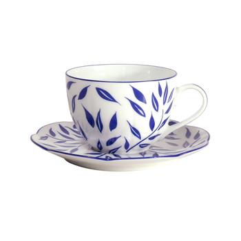 Royal Limoges Olivier Blue Tea cup