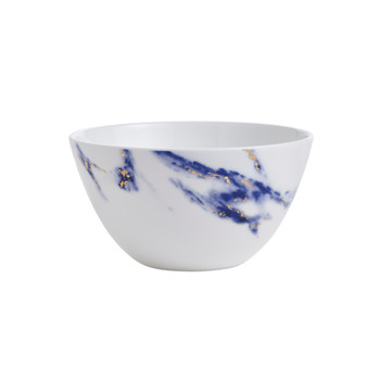 "Prouna Marble Azure - 6"" Cereal Bowl"