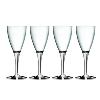 Mepra Polycarbonato Clear A/P Goblet S/4
