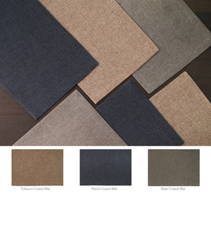 """Bodrum Twill Coated Placemat 14x20"""""""