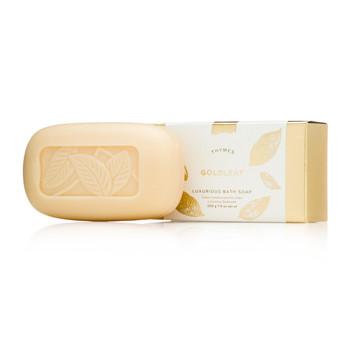 Thymes Goldleaf Luxurious Bath Soap