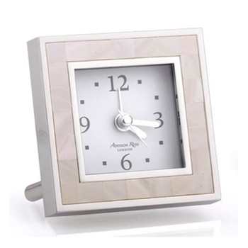 Addison Ross Mother of Pearl Alarm Clock