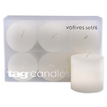 TAG Basic Votive Candle (Set of 6)