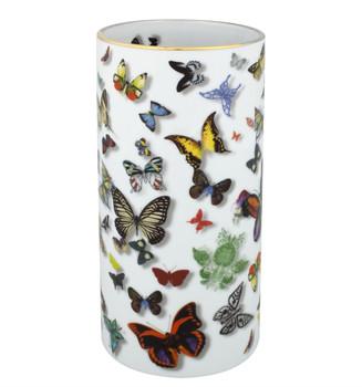 Christian La Croix Butterfly Parade Vase