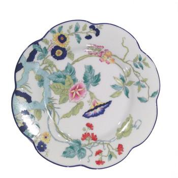 Royal Limoges Paradis Bleu Bread & Butter Plate