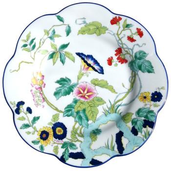 Royal Limoges Paradis Bleu Dessert Plate
