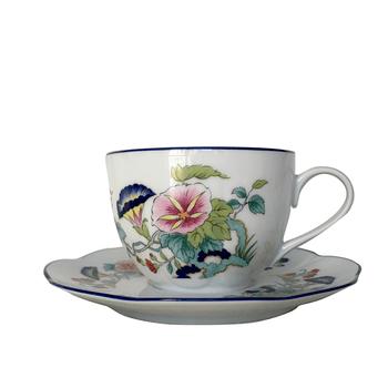 Royal Limoges Paradis Bleu Breakfast Cup