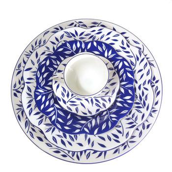 Royal Limoges Olivier Blue Teapot