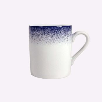 Royal Limoges Fire Blue Mug