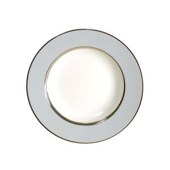 Royal Limoges Mak Grey Platinum Rim Soup Plate