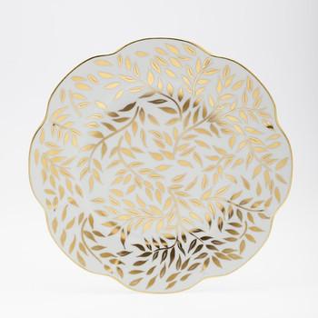 Royal Limoges Olivier Gold Dessert Plate
